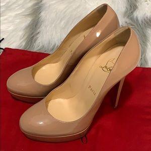 Christian Louboutin Bianca Patent Leather Heel